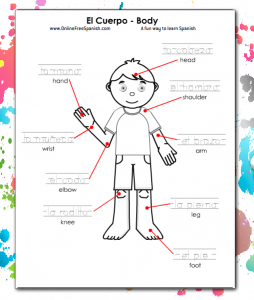 Spanish Coloring Pages Onlinefreespanish