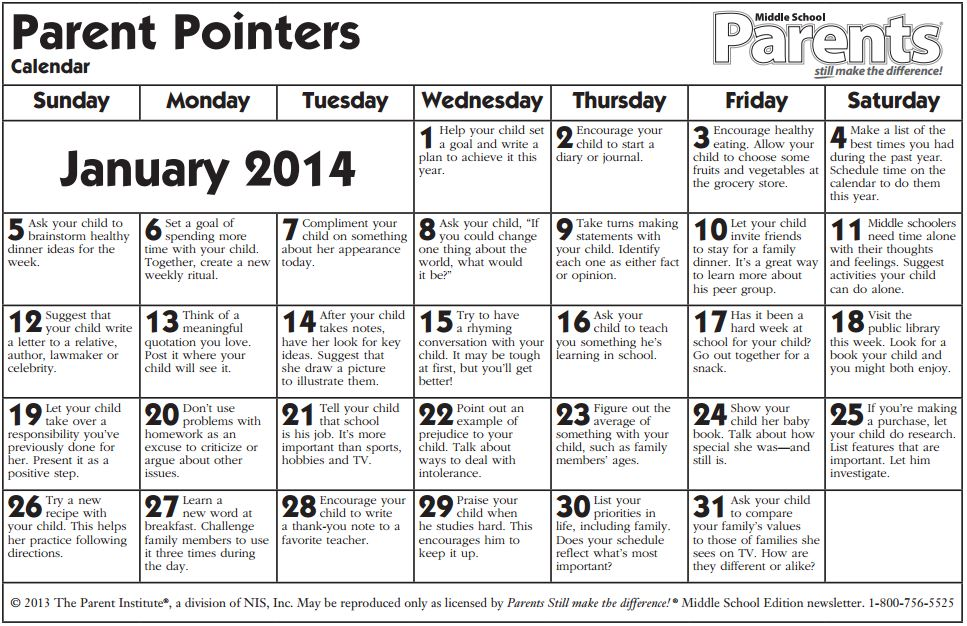 middleschoolcalendar jan 14 english