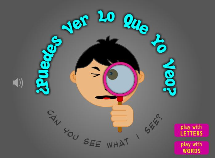 ¿Puedes Ver Lo Que Yo Veo? – Can You See What I See?