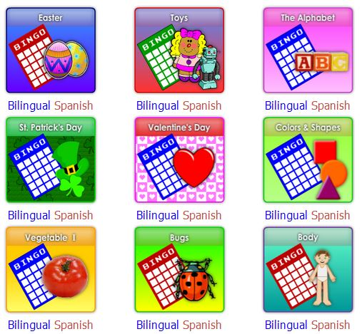 Bilingual and Spanish worksheets!