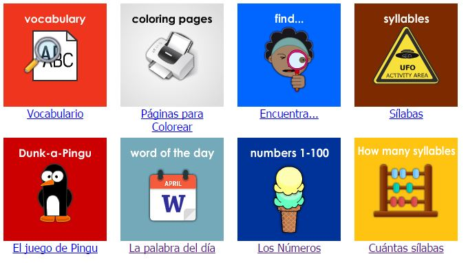 New activities for Ipad and Android tablets in onlinefreespanish