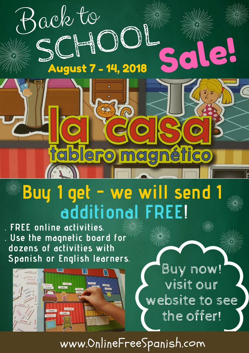 Back to school sale! La casa magnetic board!