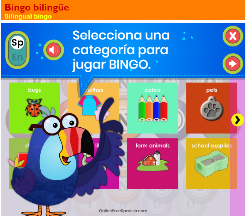 Bingo with Milan! OnlineFreeSpanish new Bingo game!