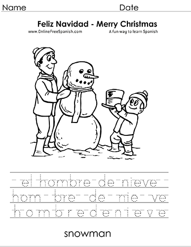 onlinefreespanishcom christmas navidad pginas para colorear coloring pages