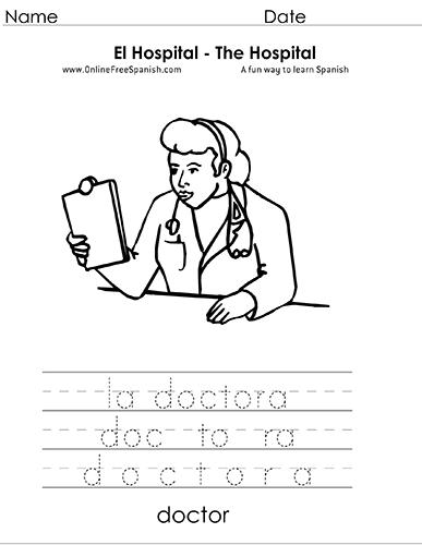 OnlineFreeSpanish.com - El Hospital - The Hospital - Páginas para ...