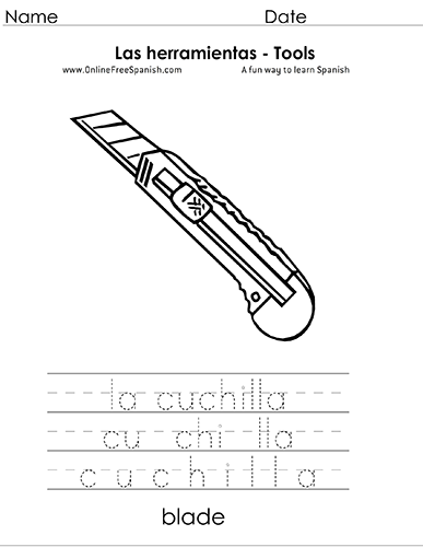 OnlineFreeSpanish.com - Las Herramientas - Tools - Páginas para ...